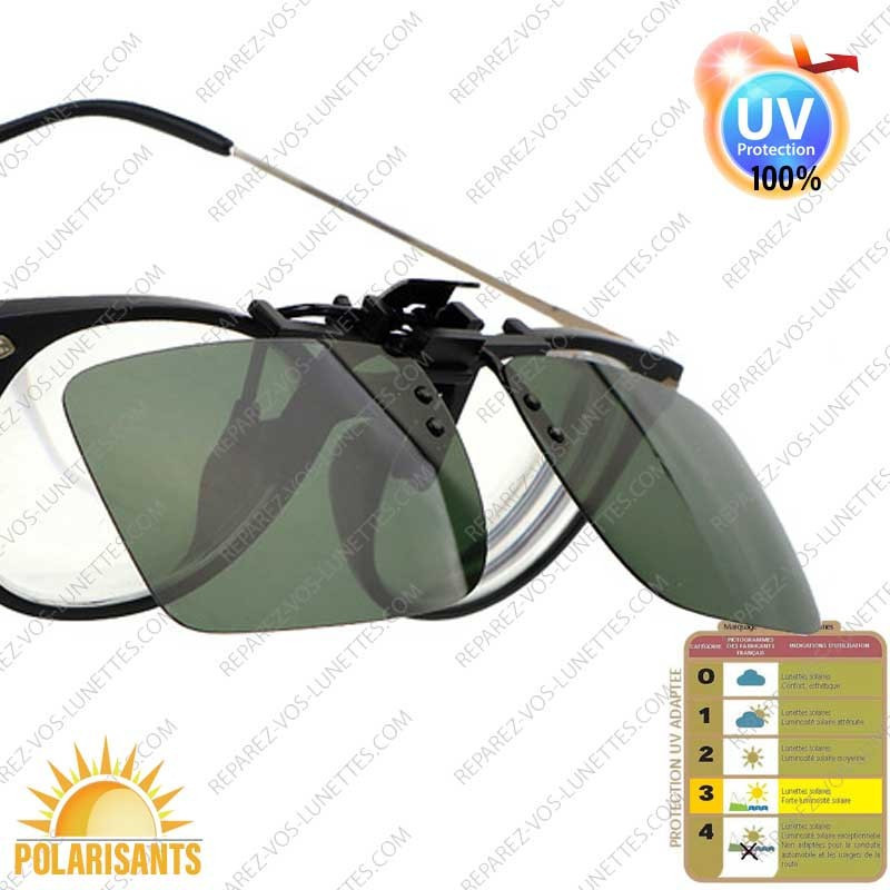 Clips solaire SunStyle, G-15 Vert