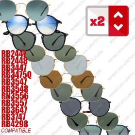 Paire de branches pour Rayban Modèles Spécifiques (15 modèles)