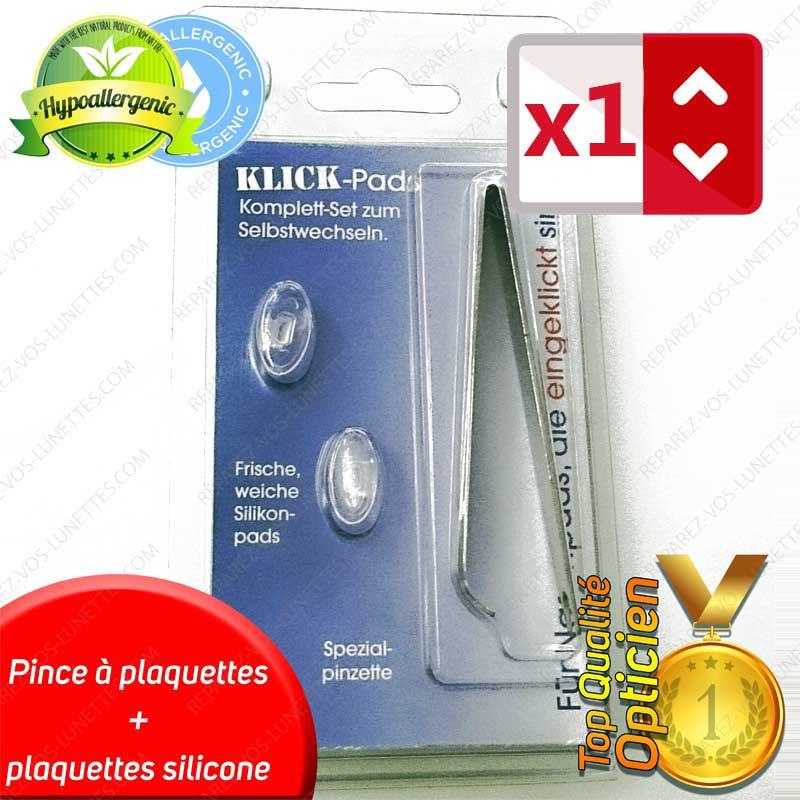 Kit plaquettes à clipser Silicone