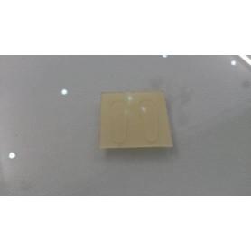 Plaquettes adhésives protection sur montures Acétate Plastique