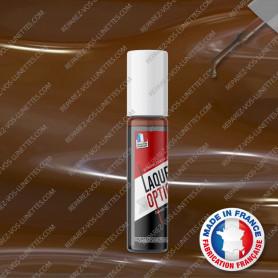Laque brun pour montures métal