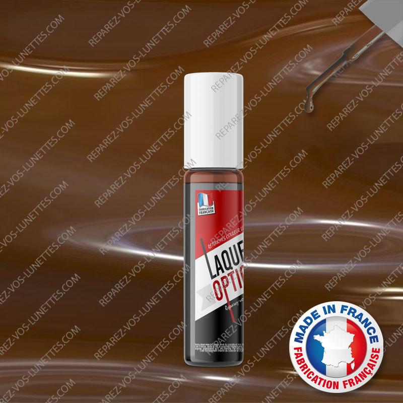 Laque brun foncé 12ml pour montures métal + applicateur - Reparez ... 31a3c9c51e72
