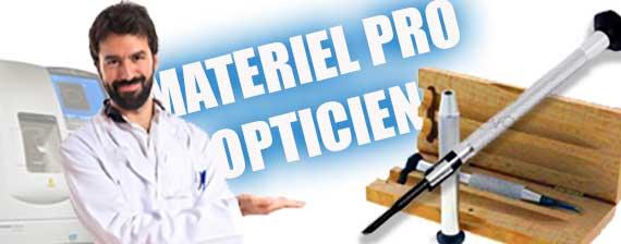 materiel pro opticien