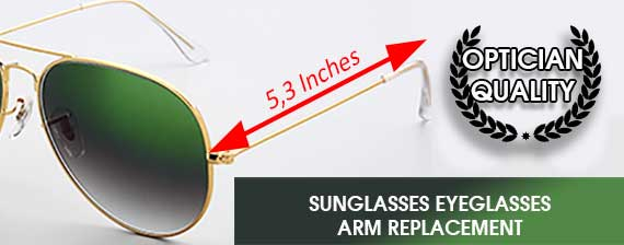 sunglasses arm leg replacement new